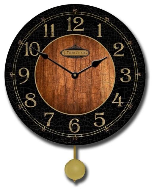 Antone pendulum clock contemporary wall clocks by clocks around the world - Contemporary pendulum wall clocks ...