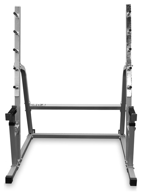 Valor Fitness Squat Bench Combo Rack Contemporary Home Gym Equipment By Bisonoffice