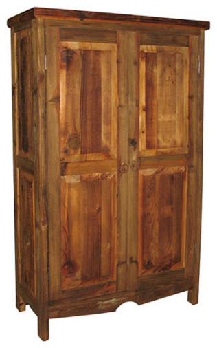 Farmhouse Pantry Cabinet - Rustic - Pantry Cabinets - by Indeed Decor