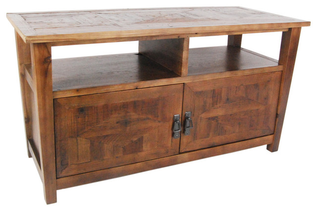 Alaterre Revive Reclaimed Tv Stand, Natural.