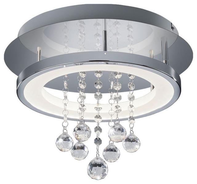 Arnsberg Dorian Led 1-Lt Ceiling Light, Chrome, 657211206.