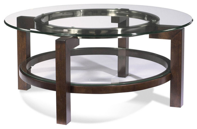 ... Round Gl Top Tail Table Contemporary Coffee Tables Houzz Bett Mirror Co  T1705 120 Oslo - Round Glass Top Coffee Tables CoffeTable