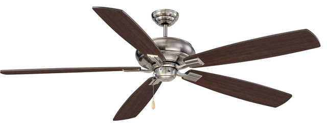 Wind Star Indoor Ceiling Fans, Brushed Pewter.