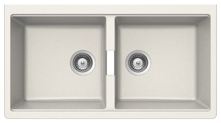 Abey N200UW Schock Double Bowl Undermount Sink