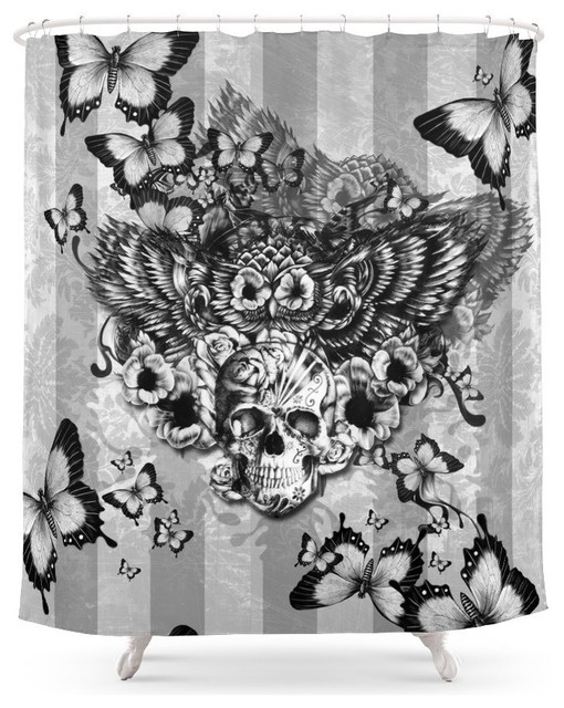 Society6 Society6 Lost and Found, Floral Owl With Sugar Skull ...