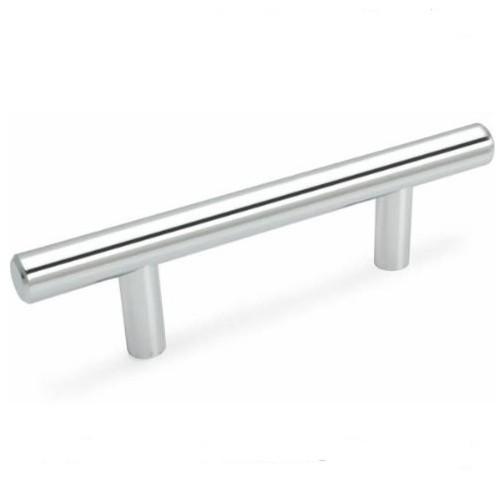 *25 Pack* Cosmas Cabinet Hardware Polished Chrome Euro Bar Pulls #161-3.5CH