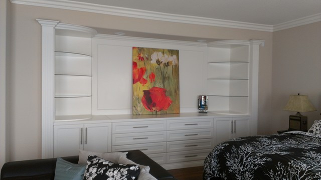 Wall Units For Bedroom aventa wall unit in ash matte Bedroom Wall Unit Traditional