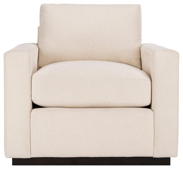 Safavieh Faustina Cotton Linen Blend Chair by Safavieh