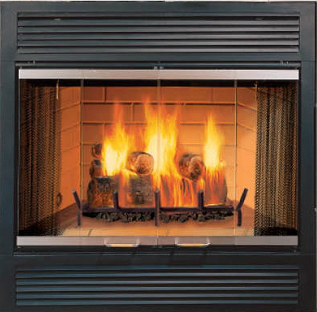 Image gallery majestic fireplaces Contemporary wood burning fireplace inserts
