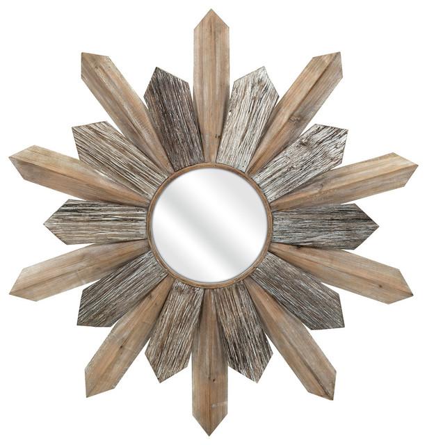 Tumelo Wood Mirror.