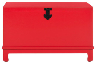 Safavieh Wesley Chest, Hot Red
