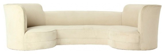 Early Oasis Sofa In The Manner Of Edward Wormley  Replica Contemporary Sofas