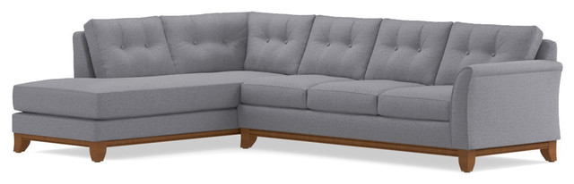 Marco 2-Piece Sectional Sofa, Mountain Gray, Chaise on Left