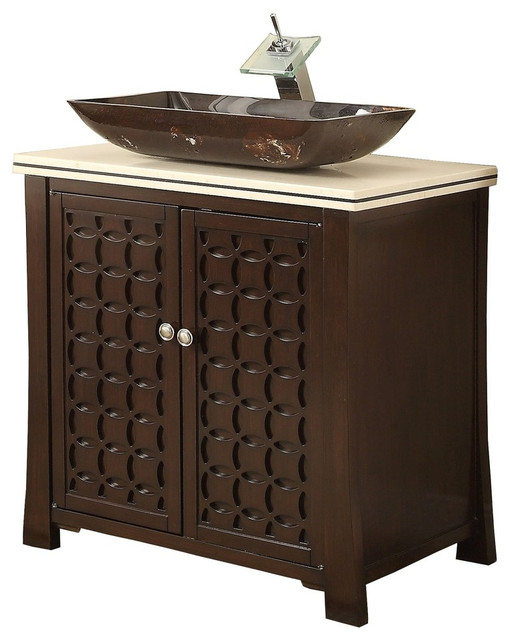 Perfect Contemporary Bathroom Vanities And Sink Consoles by Chans Furniture