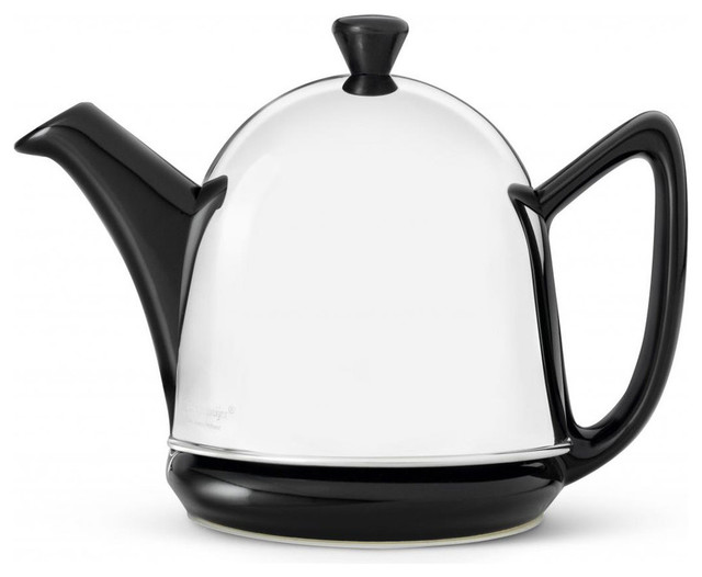 Bredemeijer ceramic and insulated stainless steel shell - Cup stainless steel teapot ...