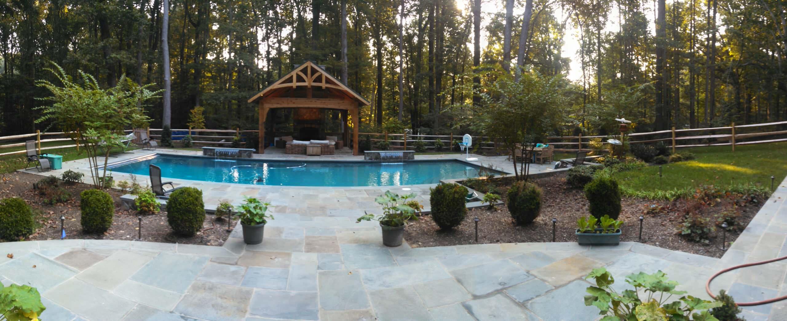 Fairfax Station Pool, Pavilion, & Fireplace