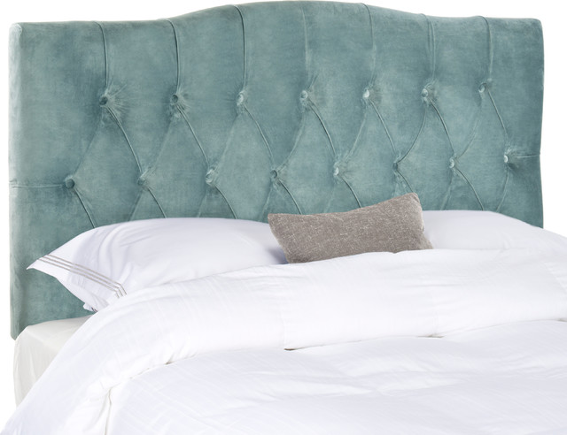 Safavieh Sloane Full Headboard, Wedgwood Blue.