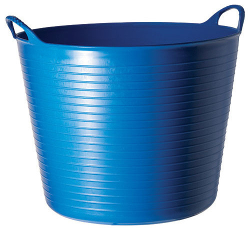 Medium Tubtrugs Flexible Storage Tub, Blue Contemporary Storage Bins  And Boxes