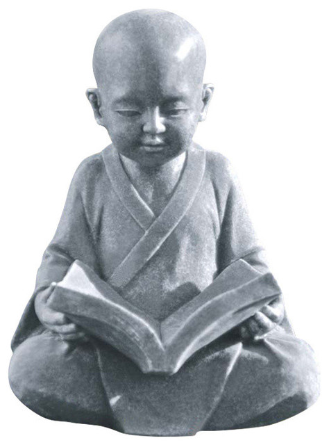 Baby Buddha Studying the Five Precepts Statue