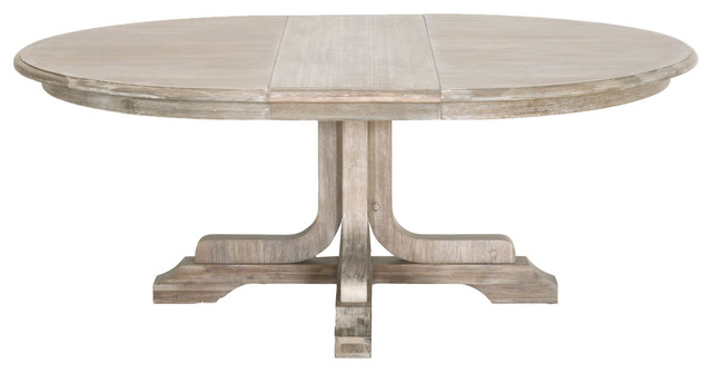Torrey 60 Quot Round Extension Dining Table Transitional