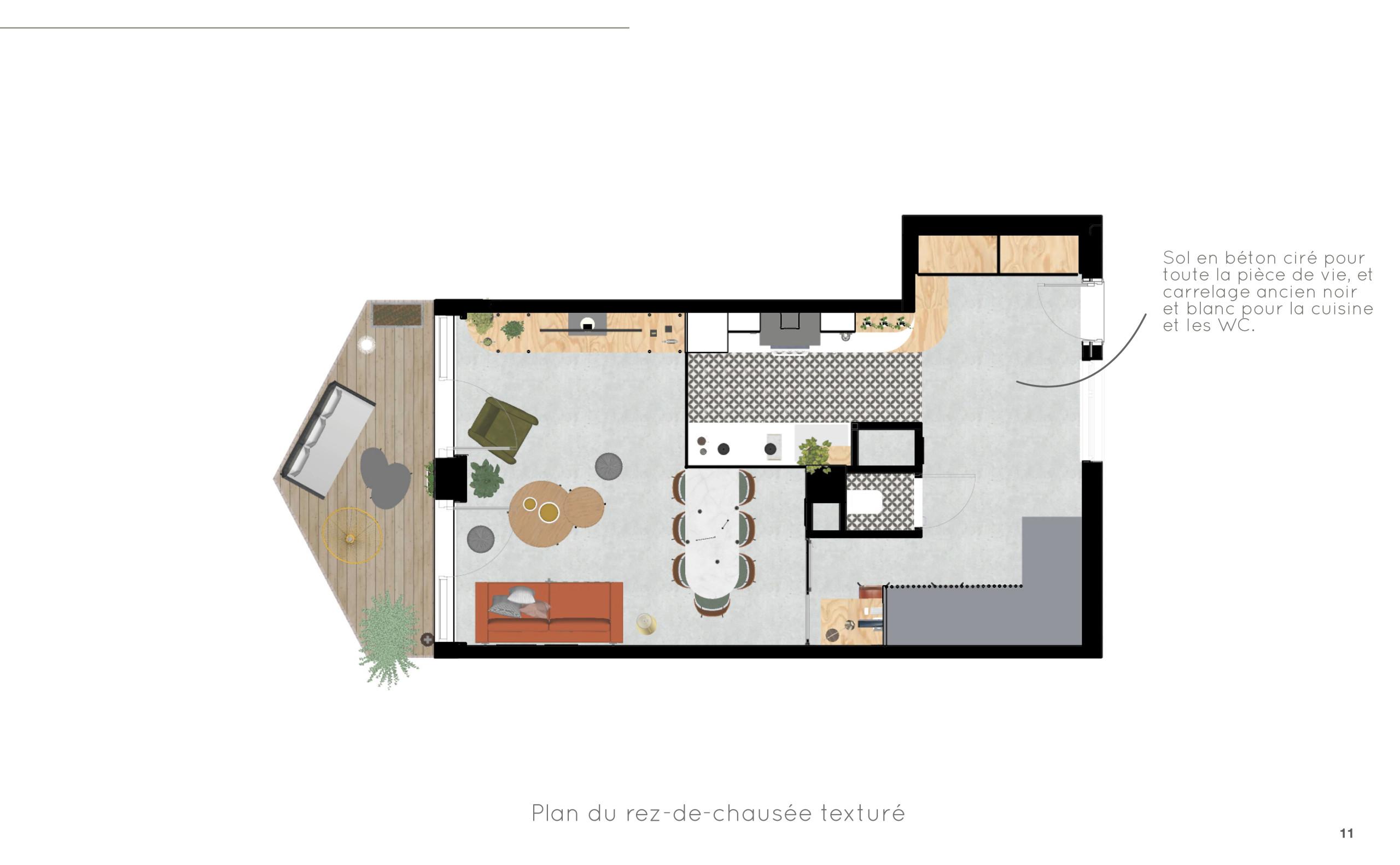 Duplex O - Option 1- Plan RDC