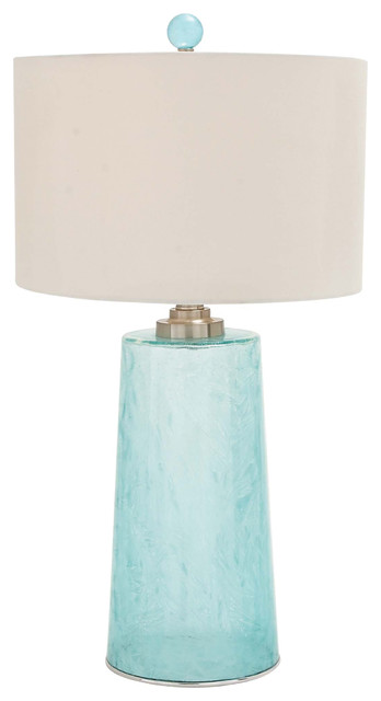 Coast table lamp blue tall transitional table lamps by coast table lamp blue tall mozeypictures Image collections