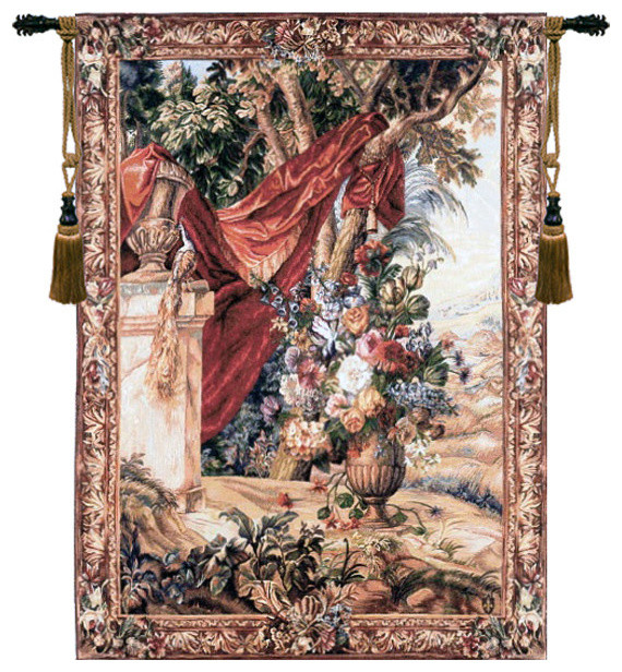 Bouquet Au Drape French Tapestry - Traditional ...