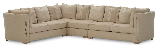 A.R.T. Furniture Ventura Madison Natural Sectional 4 Piece Set contemporary-sectional-sofas  sc 1 st  Houzz : madison sectional sofa - Sectionals, Sofas & Couches
