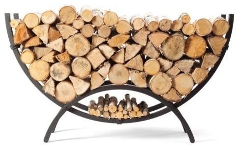 woodhaven crescent firewood rack - Firewood Racks