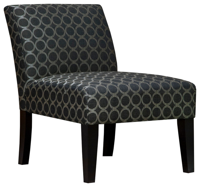 Circles Accent Chair Graphite Contemporary Armchairs