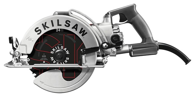 "Skilsaw Spt78w-01 15-Amp 8-1/4"" Aluminum Worm Drive Circular Saw."