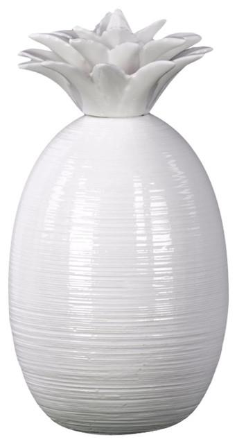 Arty Ceramic Pinele Figurine Large White