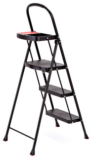 Rubbermaid 3 Step Steel Step Stool With Project Tray