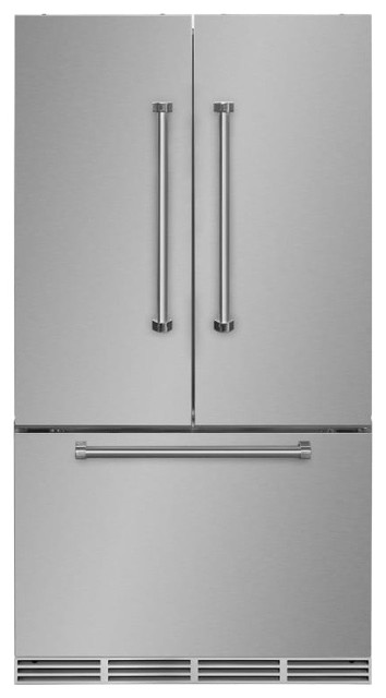 Marvel Amprofd23 36 22.1 Cu. Ft. French Door Refrigerator, Stainless Steel.