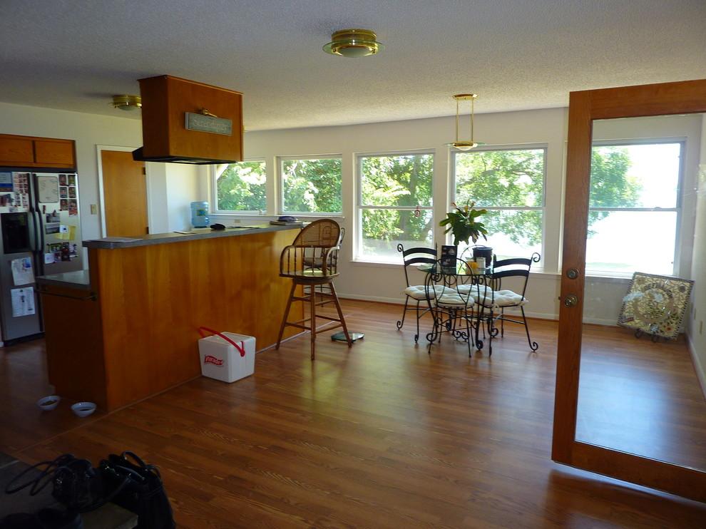 Before: Original Kitchen