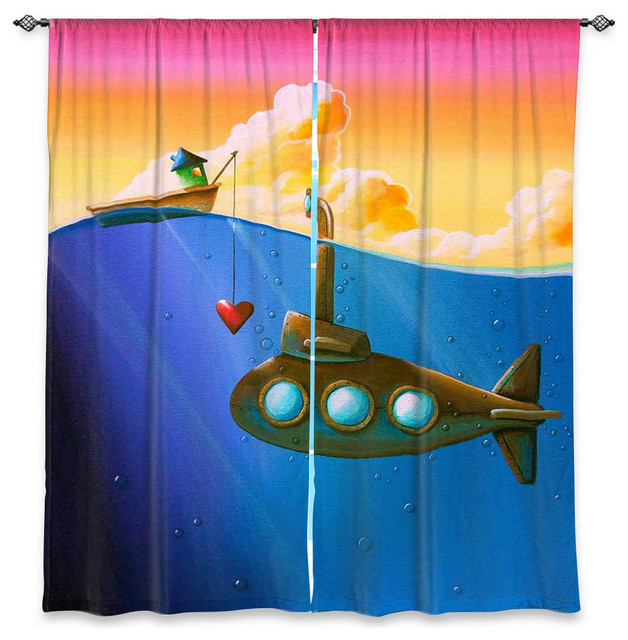 Window curtains by cindy thornton finding nemo eclectic curtains