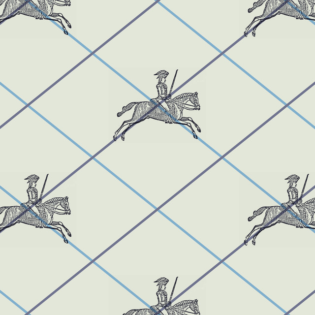 """George"" Wallpaper, Bone"