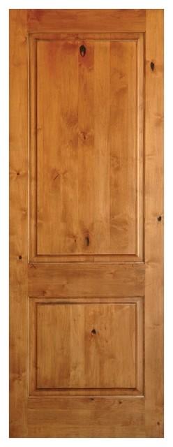 2panel Square Solid Core Knotty Alder Prehung Interior Door 28x80 Right