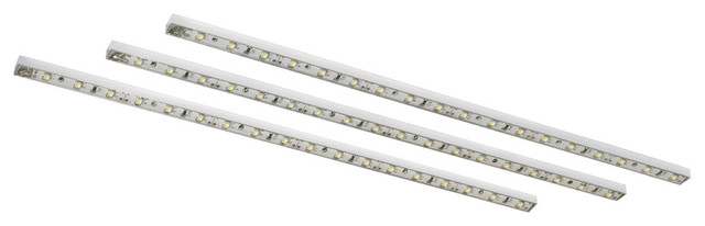 Bazz Under Cabinet LED Sticks, 3-Pack - Contemporary - Undercabinet Lighting - by Bazz Inc.