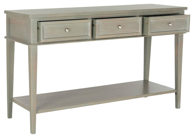 Safavieh Manelin Console, Ash Gray.