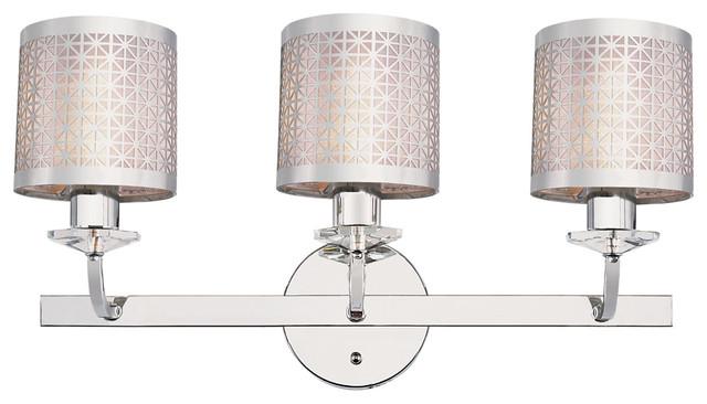 Brushed Nickel 2 Globe Vanity Bath Light Bar Interior: Trans Globe 70043 3-Light Bath Bar