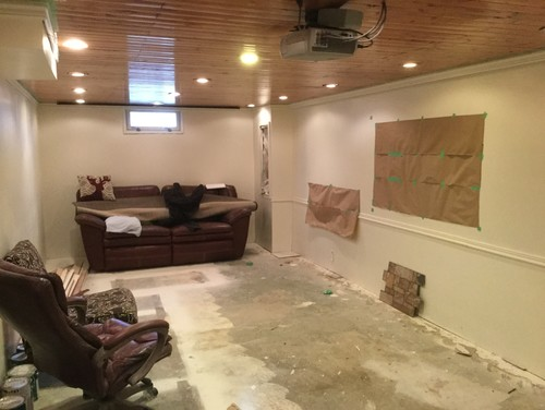 basement solutions anyone long narrow basement used for
