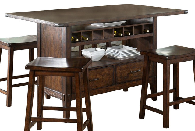 Kitchen Island 60 X 36 liberty furniture cabin fever 60x36 rectangular kitchen island in