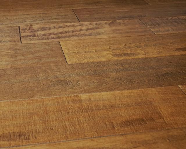 Cinnamon engineered hardwood flooring floating light brown for Floating engineered wood flooring
