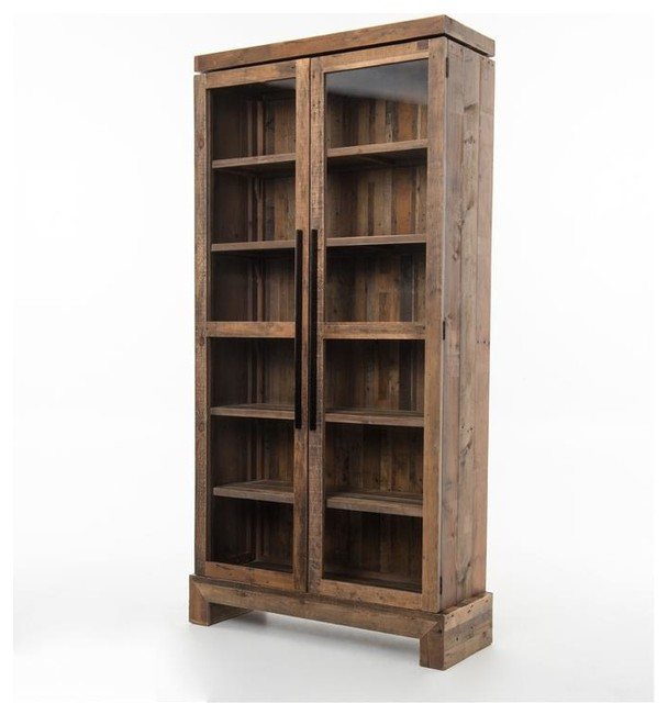 Four Hands Sierra Camino Bookcase Rustic Bookcases
