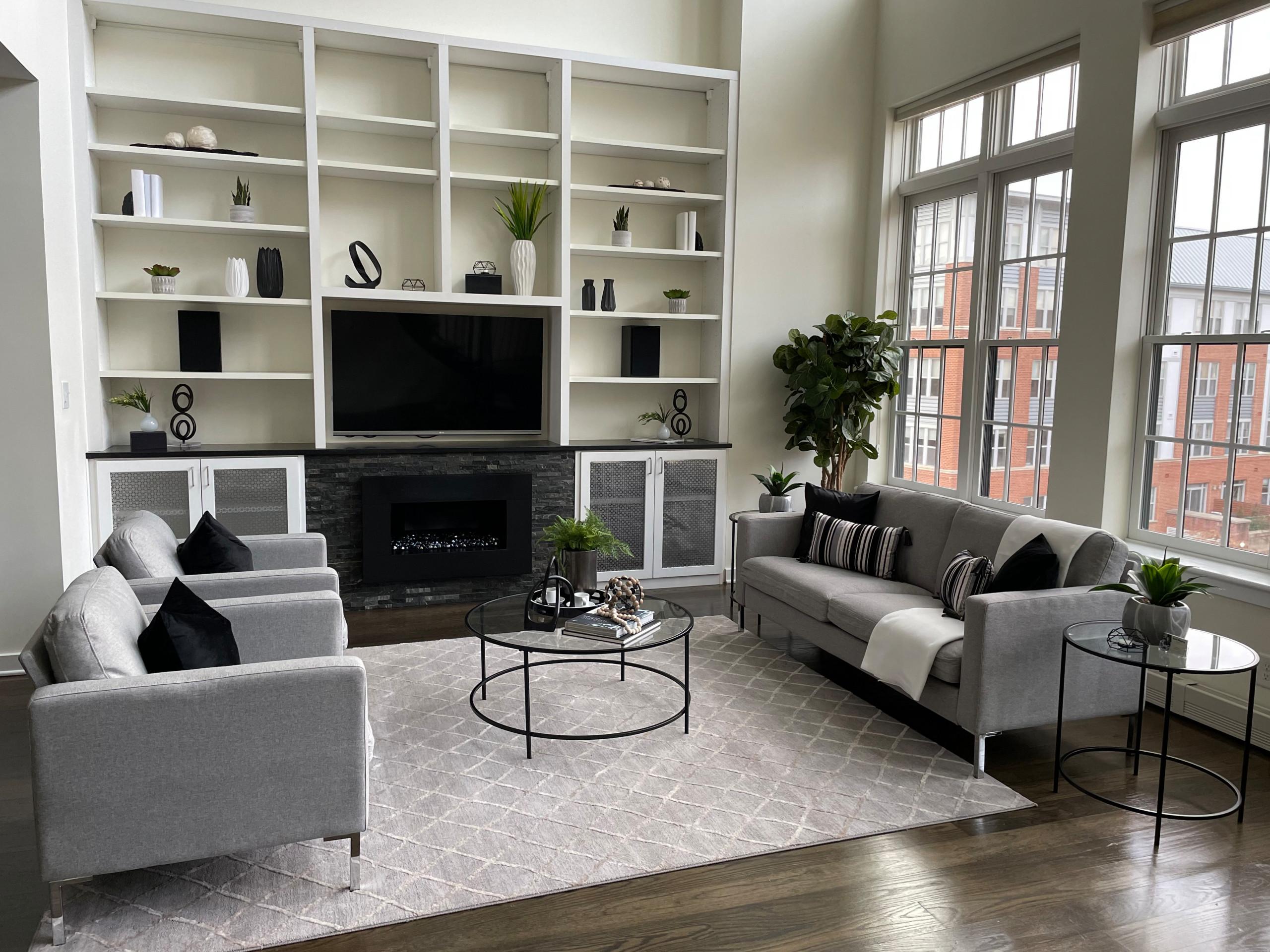 Modern Grey Penthouse