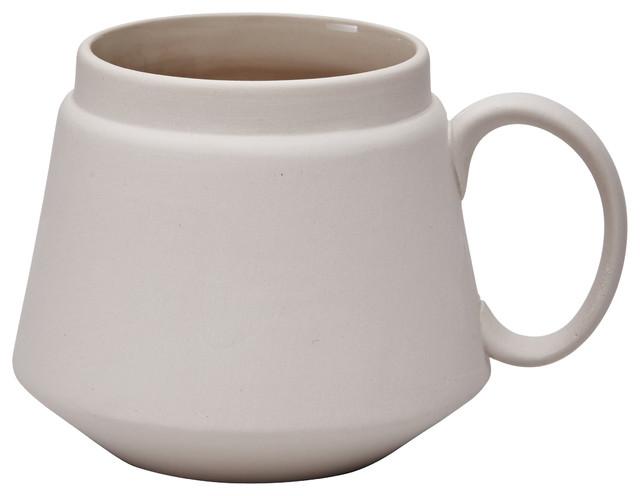 Ceramic Mug, Grey
