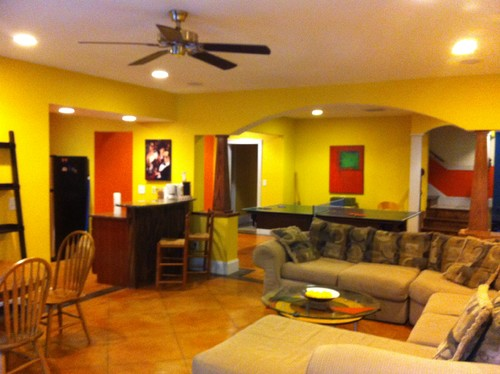 Finishing your basement some ideas for making it