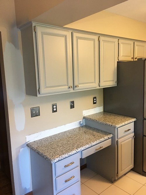 Ideas On Wall Paint Color To Go With Coventry Gray Cabinets - Wall color with grey cabinets