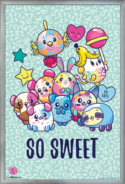 f80d115ec Pikmi Pops Group Poster - Contemporary - Kids Wall Decor - by Trends  International